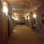 main hallway to cave