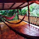 The Yoga Deck is a Hammock Deck in off hours!
