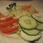 Frischer kleiner Salat-Teller. Sehr sehr lecker!