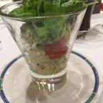 Mozarella/tomato & rocket salad