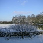 Snow at Little Saltwood Farm