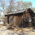 Mark Twain's cabin (1865) near Angel's Camp.