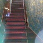 Diese Treppe muss man überwinden.