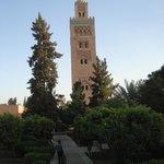 Koutoubia Mosque...a mile away - easy walk.
