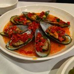 Mussels - very spicy!!!
