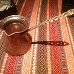 Turkish coffee served with style