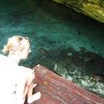 Grande Cenote (easy swim) Fun !