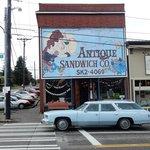 Antique Sandwich Company in Tacoma