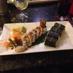 Spider roll and Philadelphia Roll!!! To die for