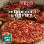 Three kinds of Pepperoni!