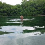 Casa Cenote 3 meters deep