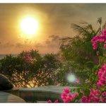 The sunrise at Batu Tangga