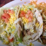 Two Soft Tacos plate