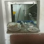 This Was Left at the hatch for 3 days Discusting