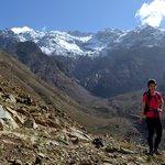 Stunning views hiking near Imlil