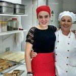 Luana e Chef Edna