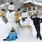 Schneefamilie :-)