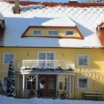 Unser Bauernhaus im Winter