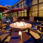 Outdoor Patio with Fire Pit