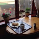 En god kop kaffe o g et skønt sted