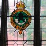 Buckingham Regiment Window