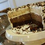 .Triple Chocolate Cake