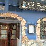 Puerta de entrada a El Puerto de Luis