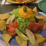 Chicken Topopo Salad