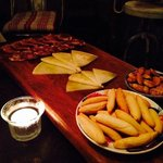 delicious sharing platter for starters