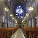 Inside the Cathedral Basilica of the Sacred Heart