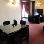 Wohnraum in Junior Suite