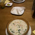 Tom Kha and Tom Yam soup