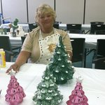 Ceramic Christmas Trees for my Kids!