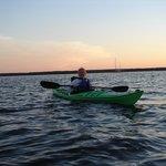 It was a beautiful sunset kayak trip!