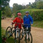 Beautiful mountain bike tour!