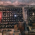 Amazing Wine Cellar (Back of Restaurant).