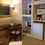 Breakfast area in Treehouse Suite