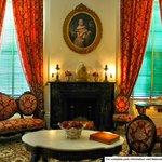 Parlor of Melrose Mansion