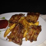 Pork ribbs 7 eur