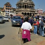 Another view of the main square of Patan