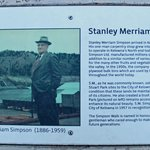 Boardwalk named after Stanley Simpson