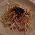 Noodles de coco y bambu