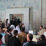 Свадебный визит в мавзолей
