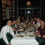 Private Dining with a fantatsic waiter, really looked after us all
