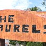 The Laurels Sign Post