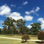 Aussie blue skies