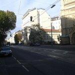 Calle del hotel norte