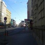 Calle del hotel sur