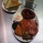 All Day Breakfast only £5 including Toast and a drink