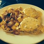 Biscuits and Gravy - made with chorizo